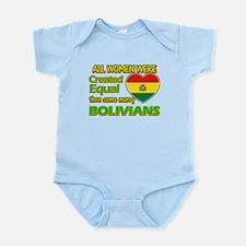 Bolivians Husband designs Infant Bodysuit