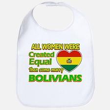 Bolivians Husband designs Bib