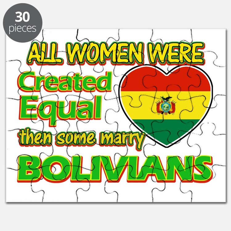 Bolivians Husband designs Puzzle