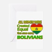 Bolivians Husband designs Greeting Card