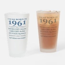 Birthday Facts-1961 Drinking Glass