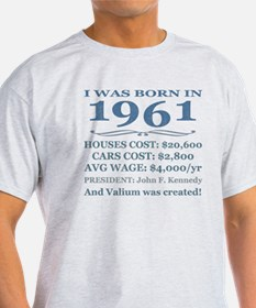 Birthday Facts-1961 T-Shirt