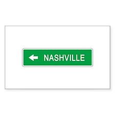 Roadmarker Nashville (TN) Rectangle Decal
