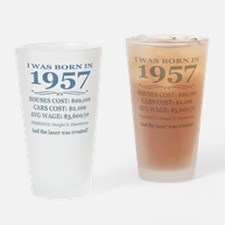 Birthday Facts-1957 Drinking Glass