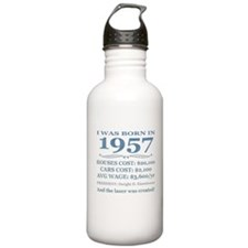 Birthday Facts-1957 Water Bottle