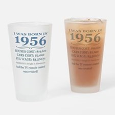 Birthday Facts-1956 Drinking Glass