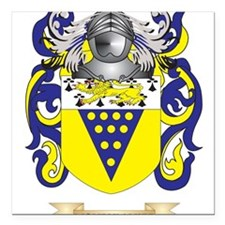 Moneymaker Coat of Arms - Family Crest Square Car