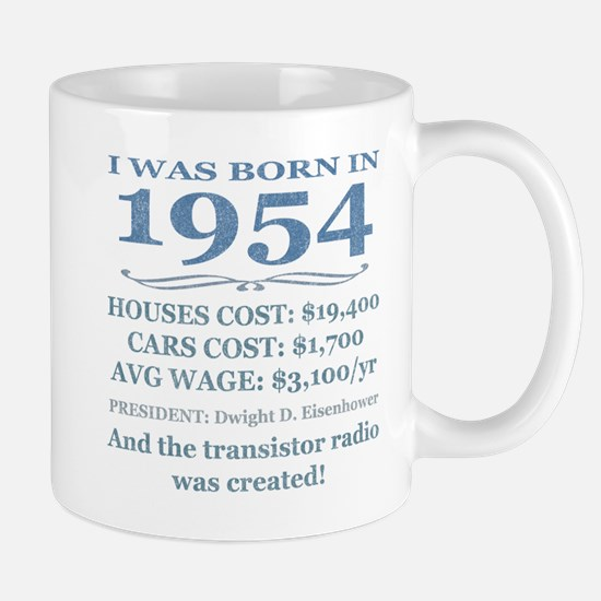 Birthday Facts-1954 Mugs