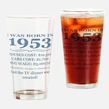 Birthday Facts-1953 Drinking Glass