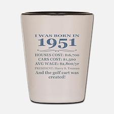 Birthday Facts-1951 Shot Glass