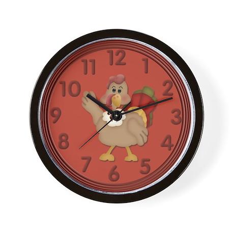 Turkey Wall Clock Wall Clock