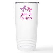 Aunt of the Bride Wedding Travel Mug