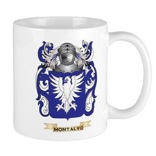 Montalvo Coat of Arms - Family Crest Mugs