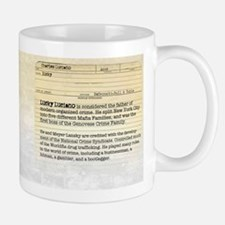 Charles Lucky Luciano Historical Mugs