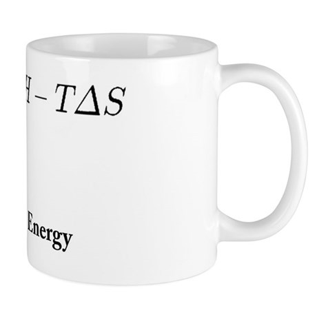 Gibs Free Energy Mug