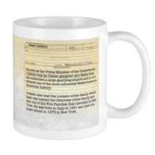 Frank Costello Historical Mugs
