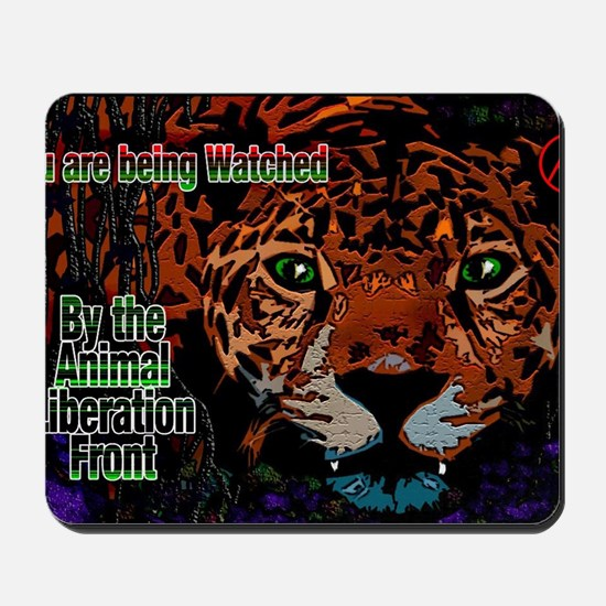 Leopard A.L.F. Mousepad