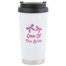 Oma of the Bride Travel Mug