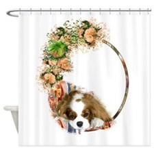 Cavalier Blenheim Shower Curtain