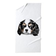 Cavalier Pup Beach Towel