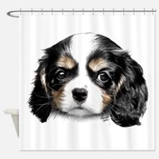 Cavalier Pup Shower Curtain
