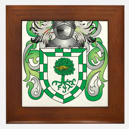 Mooney Coat of Arms - Family Crest Framed Tile