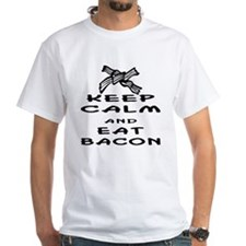 Keep Calm And Eat Bacon Shirt