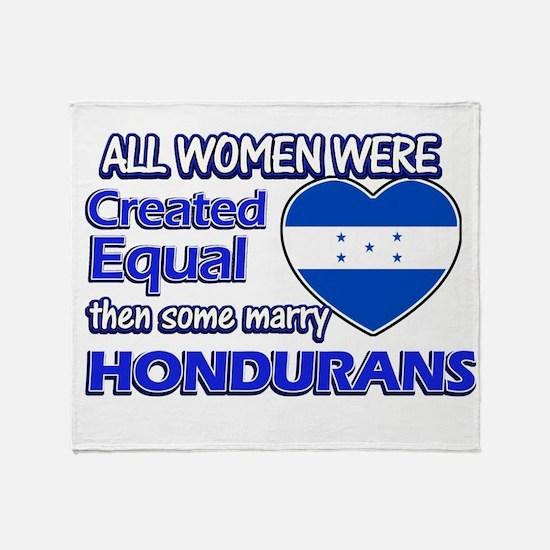 Hondurans husband designs Throw Blanket