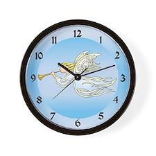 Flying Angel Wall Clock