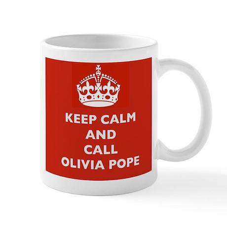 Keep Calm and Call Olivia Pope- Scandal TV Show Mu