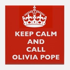 Keep Calm and Call Olivia Pope- Scandal TV Show Ti