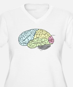 dr brain lrg Plus Size T-Shirt