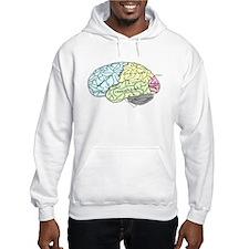 dr brain lrg Hoodie