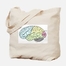 dr brain lrg Tote Bag