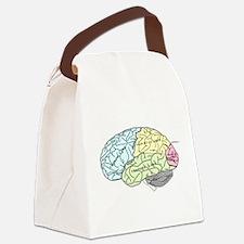 dr brain lrg Canvas Lunch Bag