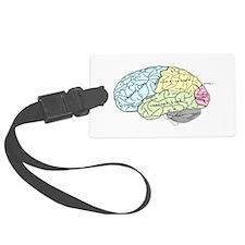 dr brain lrg Luggage Tag