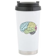 dr brain lrg Travel Mug