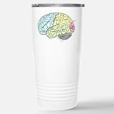 dr brain lrg Travel Mug