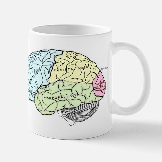dr brain lrg Mugs