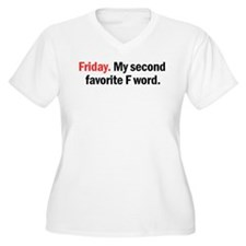 My favorite word Plus Size T-Shirt