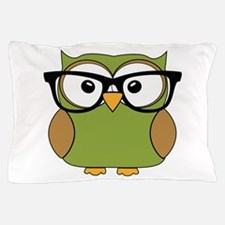 Funky Hipster Owl Pillow Case