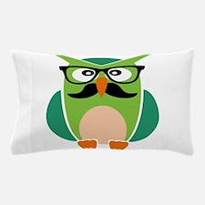 Hipster Owl Pillow Case