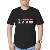 1776 Fitted T-shirts (Dark)