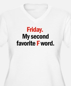 Friday is coming Plus Size T-Shirt
