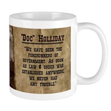 Doc Holliday Historical Mugs