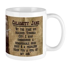 Calamity Jane Historical Mugs