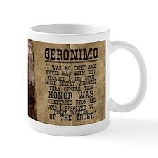 Geronimo Historical Mugs