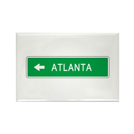 Roadmarker Atlanta (GA) Rectangle Magnet (100 pack