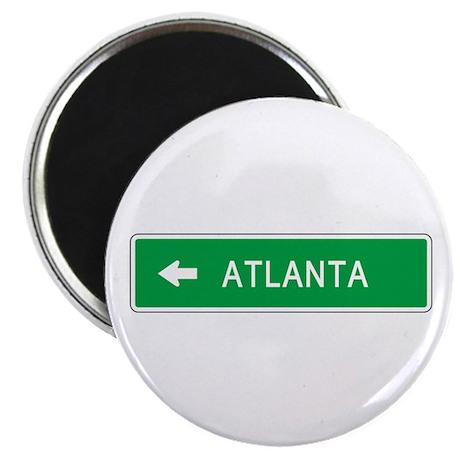 """Roadmarker Atlanta (GA) 2.25"""" Magnet (10 pack)"""