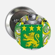 """Moretti Coat of Arms - Family Crest 2.25"""" Button"""